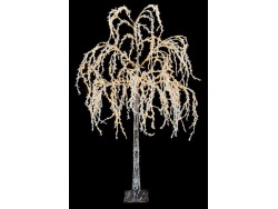 Flocked Weeping Willow Tree LED