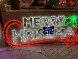 Merry Christmas Sign Large