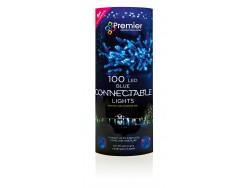 Connectable Static Blue Led Commercial 100 sets 8m Lights