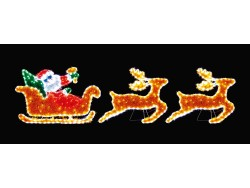 SLEIGH WITH 2 REINDEERS