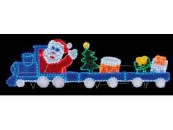 Santa Train Flashing Led Large