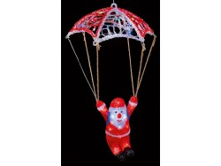 Acrylic Parachuting Santa led
