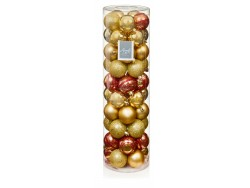 Baubles Drum Red & Gold P