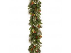 Wintry Pine Garland 2.7m