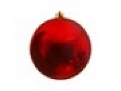 Red Bauble 14cm OD D