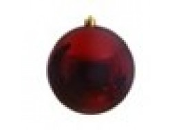 Ox blood Red Bauble 14cm OD D