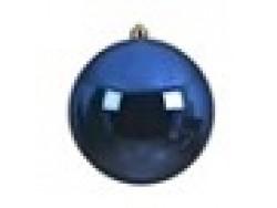 Blue Bauble 14cm OD D