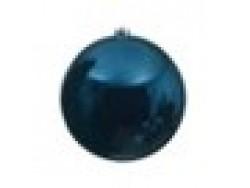 Dark Blue Bauble 14cm OD D