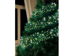 CLUSTER LIGHTS WARM WHITE 12.4M 960 LEDS
