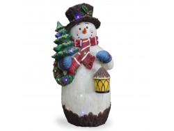 Snowman with Lantern NT