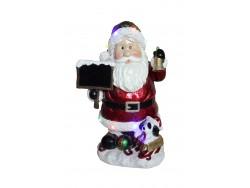 Santa with Board Resin NT