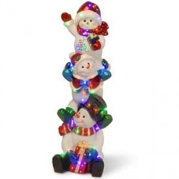 Stacking Snowmen Large Resin NT