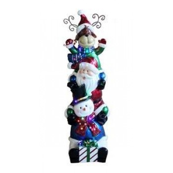 Stacking Snowmen Resin Large NT