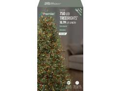 Tree Brights 750 on 18.7m MULTOCOLOURED