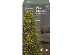 Tree Brights 750 on 18.7m WARM WHITE